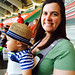 Eli's First Baseball Game (Richmond Squirrels 2014 Opening Day)
