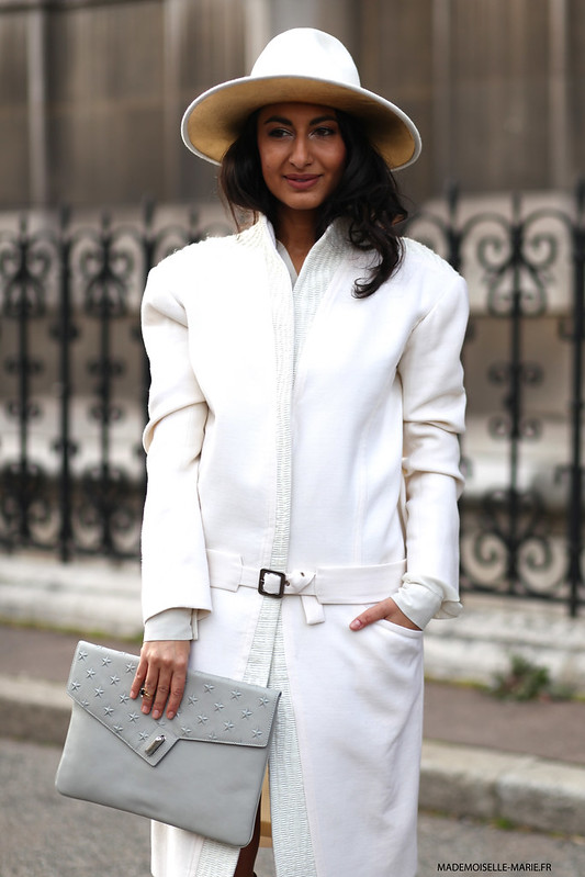 Nausheen Shah at Paris fashion week