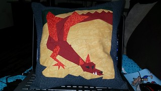 Smaug paper piecing