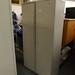 2 door steel unit with shelves