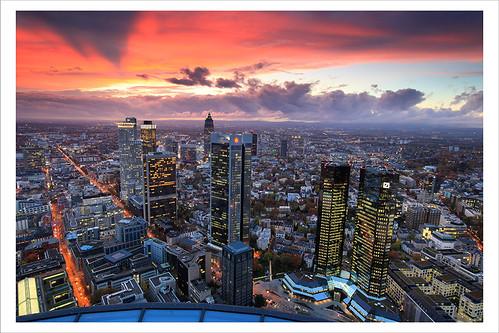 Frankfurt Sunset 2313