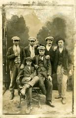 Souvenir d'un jour de sortie à Nyons 1921