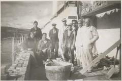 Arbeidsfolk på Falstad (ca. 1950) / Workers at Falstad (ca. 1950)