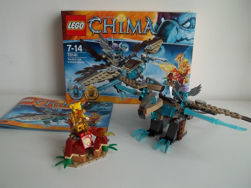 LEGO 70141 The Legends Of Chima Vardy/'s Ice Vulture Glider New In Box Lundor