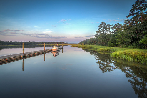 park county morning grass creek sunrise georgia island coast boat dock state fort tide hill richmond bryan coastal serene marsh campground tidal hdr placid savage mcallister redbird dnr
