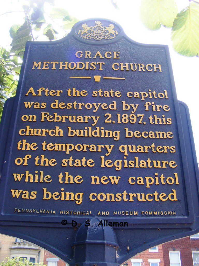 THE HISTORIC GRACE UNITED METHODIST CHURCH, 216 State St, Hbg, PA