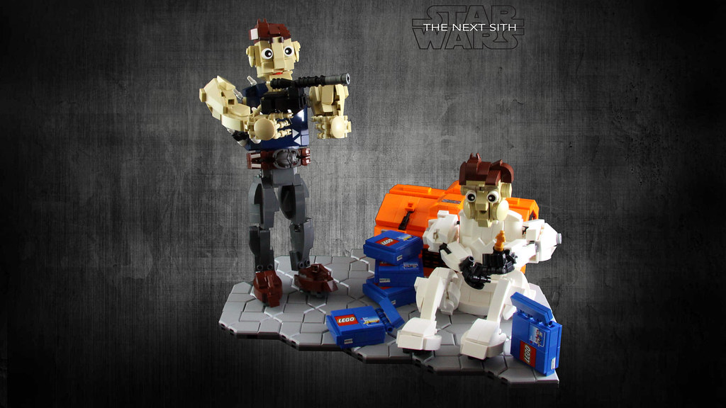 STAR WARS – The Next Sith (custom built Lego model)