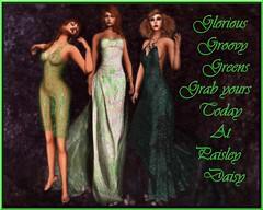 Glorious Greens at Paisley Daisy