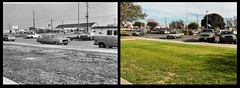 Los Alamitos High - Comparison of Front Parking Lot