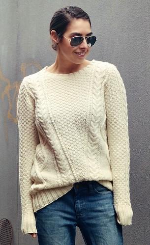 Modern style fashion women knitwear