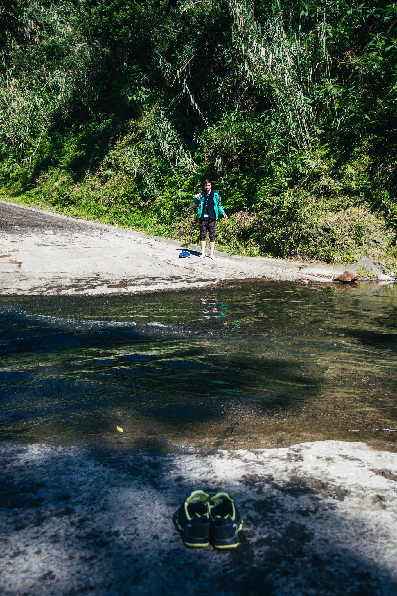 Salto do Cabrito túraútvonal nehézségei az Azori-szigeteken.