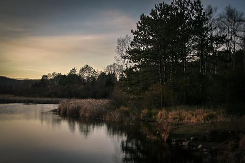 fall hartley minnesota subject duluth nature pond sunset trees xss unitedstates us cfpti17