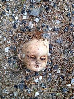 Roadside Find - Doll Head