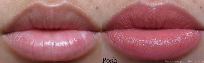 Performance Colors Semi Matte Lipstick in Posh