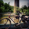 I think I'm halfwayish up the #humber? #bike #instabike #bikeporn