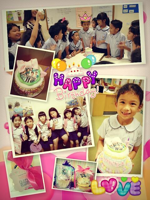 the birthday girl..