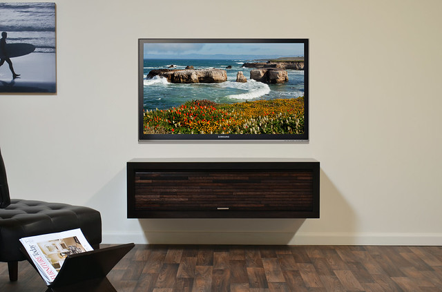 Minimalist TV Stand ECO GEO Espresso  Flickr - Photo Sharing!