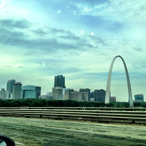 Wonder if Nelly would wanna hang out? Yo St. Louis! #arch #stlouis #photography #skyline #city #travel