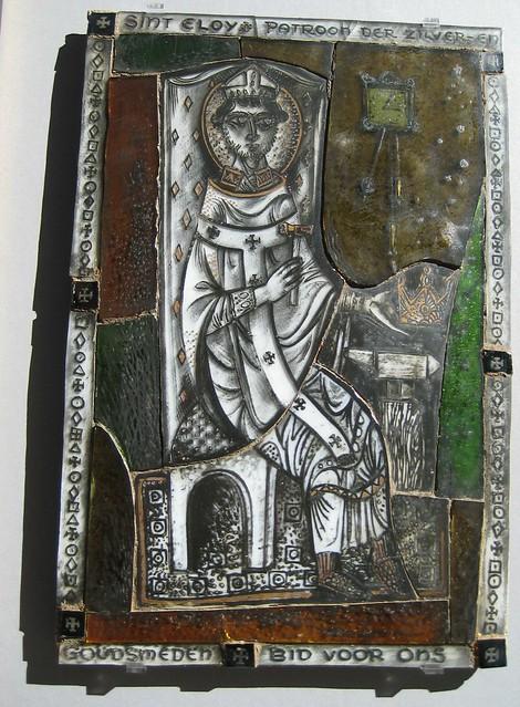 Heilige Eligius patroon van de goudsmeden
