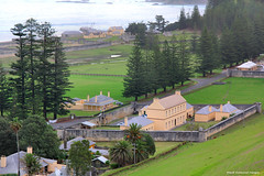 View Across Quality Row to Kingston, Queen Elizabeth Lookout, Norfolk Island