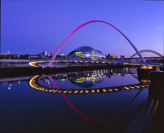 Newcastle Quayside - Velvia 100 RB67