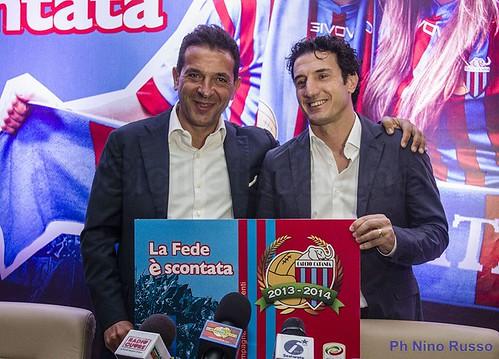 Catania, abbonamenti 2013/14 novità e termini. Conferenza stampa: Pulvirenti, Milazzo e Respo. Ticketone e G-Sport$