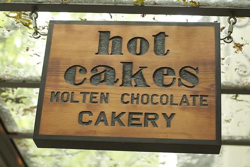 Hot Cakes signage