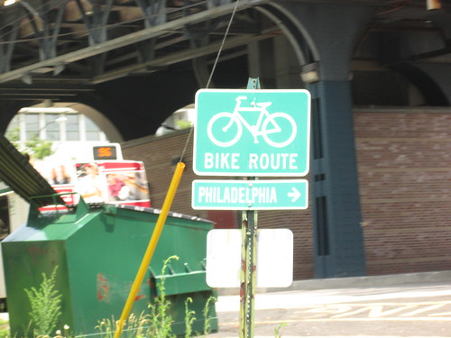 Bike Trail into Philly