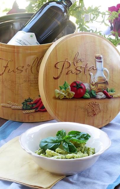Pesto di Verdelli, Basilico e Menta