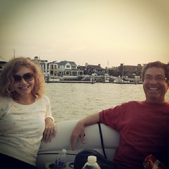 Another pic a friend of ours sent us from the #Newport #HarborCruise the other night. The smiles don't lie. We had a blast thanks to great weather, amazing friends and @NewportPontoons