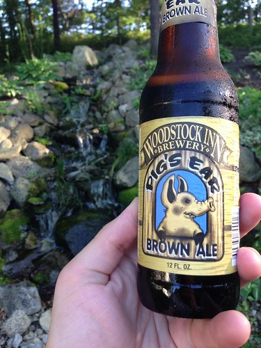 Woodstock Inn Brewery Pig's Ear Brown Ale