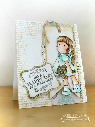 Magnolia Happy day card
