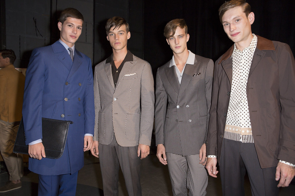 SS14 Milan Canali096_Sascha Weissenborn, Robbie Wadge, James Smith, Aiden Andrews(fashionising.com)