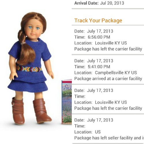 Mini AG Saige is on her way! by Among the Dolls