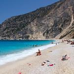Παραλία Μύρτου  Myrtos