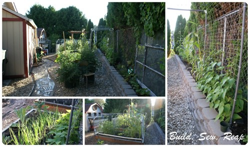 July 2013 Garden Collage