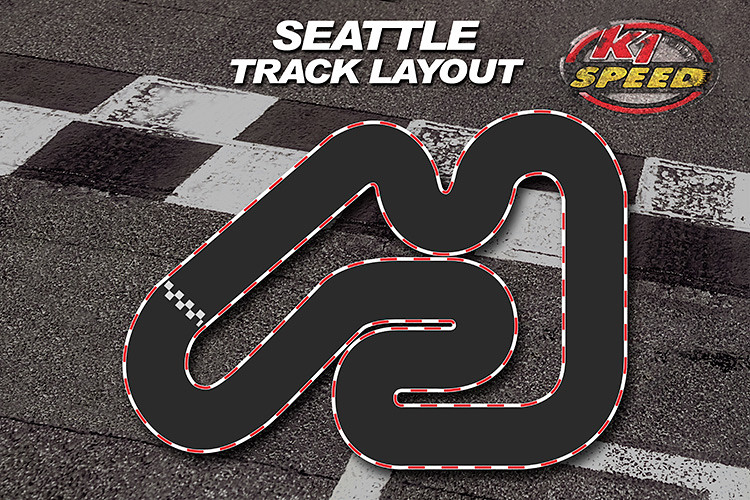 K1 Speed Seattle New Track Layout K1 Speed