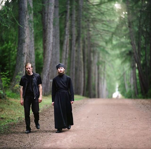 Аллея одинокого монаха
