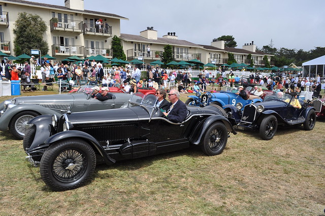 Pebble Beach Concours d'Elegance 2013, The Lodge at Pebble Beach Golf Links