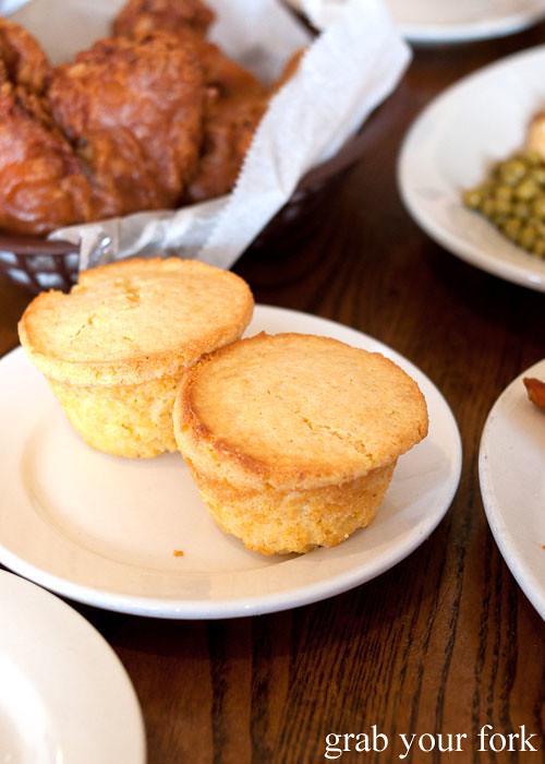 cornbread muffins at willie mae's scotch house new orleans louisiana