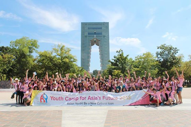 youth camp for asia's future 2013