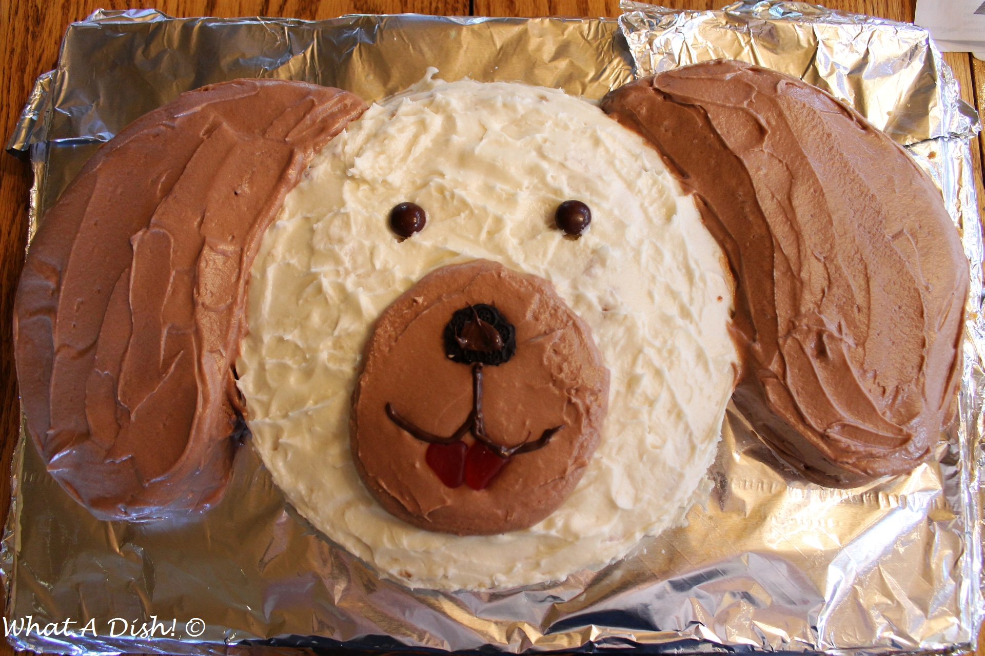 What A Dish!: Puppy Dog Birthday Cake