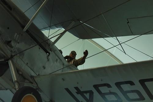 RAF Museum: manichino