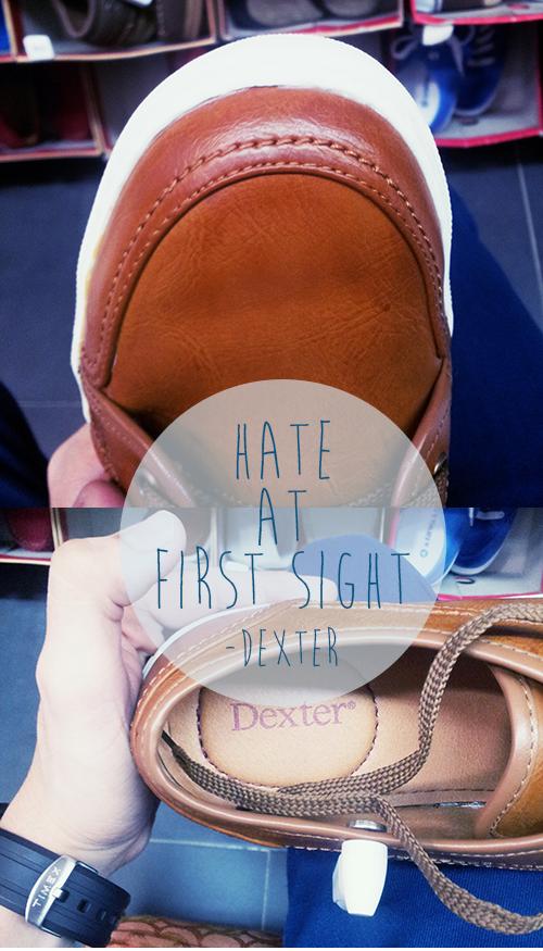 dexter shoes suck,
