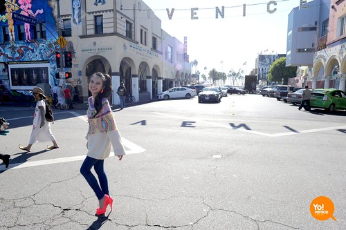 Becky♪♯  Venice Beach, California