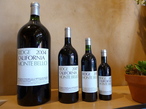 Ridge Vineyards large bottle formats