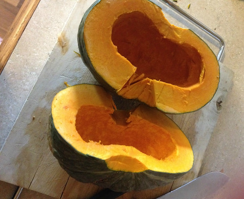 Cleaned Japanese Pumpkin