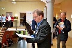 Brassbandfestivalen 2013 - Martin Lindor tillkännager Elitdivisionens lottning (Foto: Olof Forsberg)