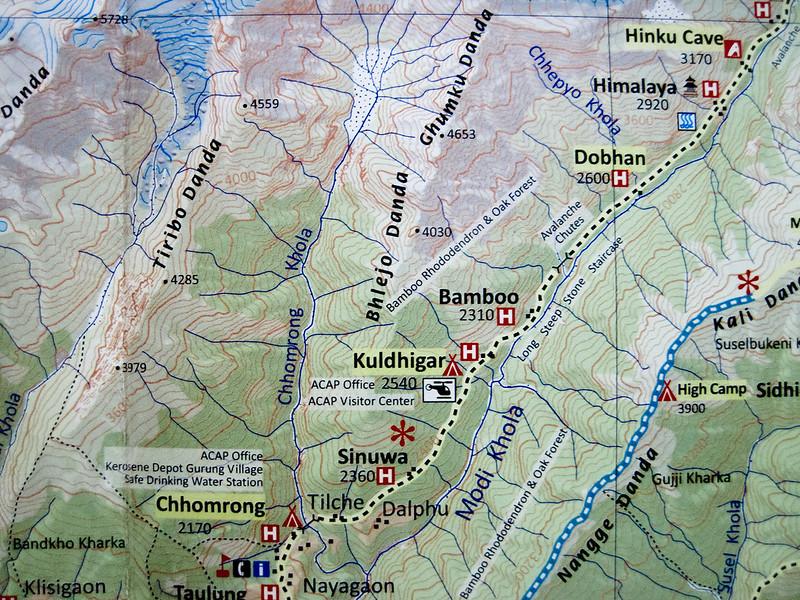 Chhomrong to Himalaya