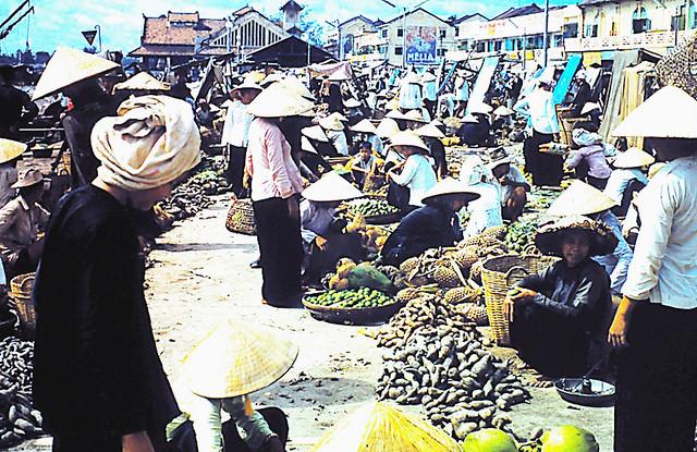 Cantho Market 1959-60